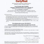 Certyfikat AXA  (2017-2016)