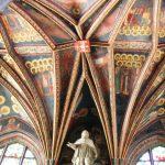 La polychromie dans la chapelle da la Sainte Croix, La Cathédrale Royal de Wawel