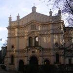 La synagogue Tempel, Kazimierz, quartier juif