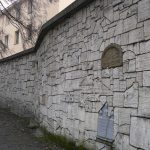 The Wailing Wall at the Old Cemetery, Kazimierz