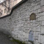 le Mur des Lamentations au cimetiere pres de la sunagogue de Remu, Kazimierz, quartier juif