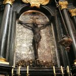 The altar of Jesus Crucified, The Royal Cathedral at Wawel Hill
