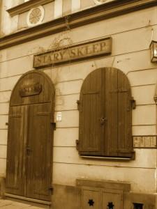 Uliczka na Krakowskim Kazimierzu