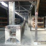 Auschwitz-Birkenau la baraque pour les prisonniers