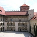 The arcaded courtyard of the Royal Castle on Wawel Hill