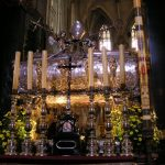 The coffin of St Stanislaw, The Royal Cathedral at Wawel Hill