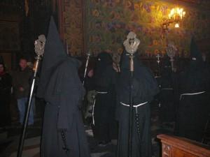Procesja Arcybractwa Męki Pańskiej w Kościele Franciszkanów