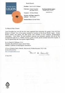 Rekomendacja Royal British Legion
